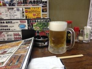 Primera cerveza japonesa